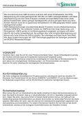 Bedienungsanleitung - FK Söhnchen - Page 2