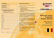 wirtschaftsreise/ symposium brüssel, belgien - Handwerkskammer ...