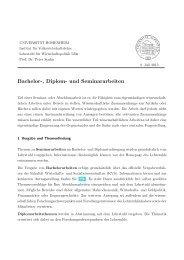 Richtlinien (Deutsch, Juli 2013) - Lehrstuhl für Wirtschaftspolitik