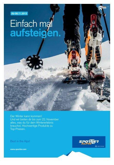 Sportler Alpin Flyer - Naturfreunde Innsbruck