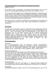 Info-Blatt - Die Grünen Siegen-Wittgenstein