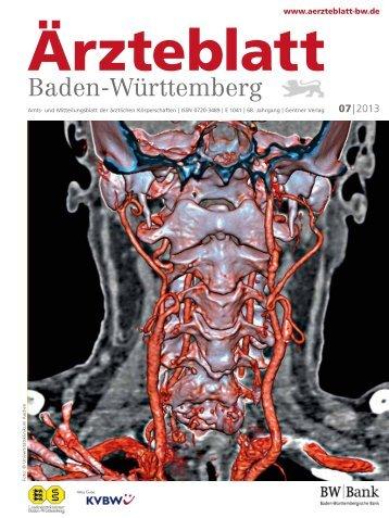 Ärzteblatt Baden-Württemberg 07-2013 [PDF] - Landesärztekammer ...