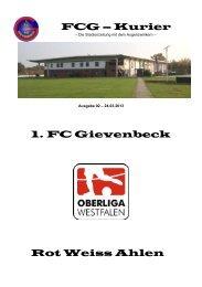 FCG – Kurier - 1. FC Gievenbeck