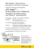 35 Jahre Allegro Vivo im Waldviertel 22. April bis 15. Mai 2013 - Seite 2