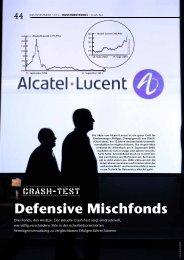 defensive mischfonds - Allianz Global Investors