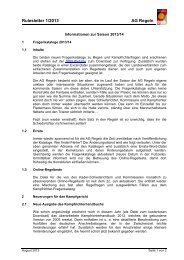 DBB Rulesletter 1-2013 - Deutscher Basketball Bund