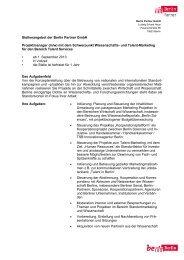 (m/w) mit dem Schwerpunkt Wissenschafts- und ... - Berlin Partner