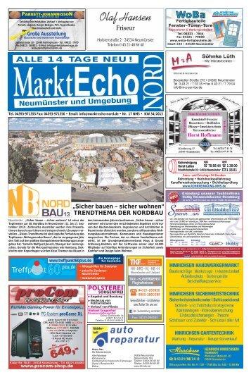 Treffpunkt - Markt Echo Nord