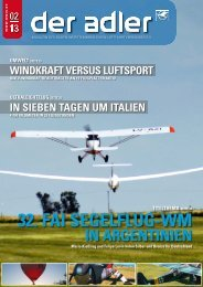 32. fai segelflug-wm - Baden-Württembergischer Luftfahrtverband eV