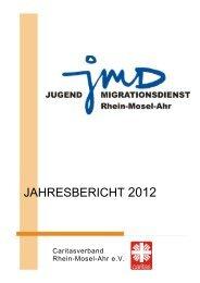 Jahresbericht 2012 - Caritasverband Rhein-Mosel-Ahr eV
