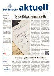 aktuell Nr. 8 vom 04.03.2013. - Bundeswehr