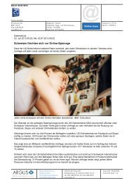 Schweizer fürchten sich vor Online-Spionage - Comparis.ch
