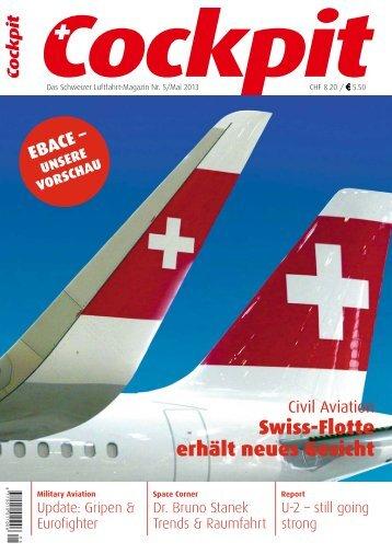 Swiss-Flotte erhält neues Gesicht - Cockpit