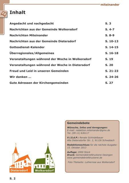 miteinander - Dekanat Schwabach