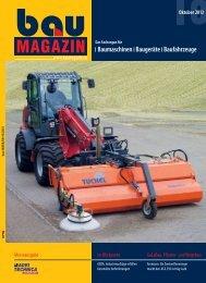Baumaschinen Baugeräte Baufahrzeuge - SBM Verlag GmbH