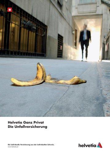 Helvetia Ganz Privat Die Unfallversicherung - Chegg.net