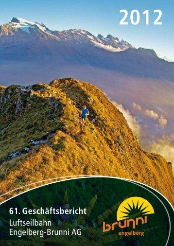 Geschäftsbericht 2012 - Brunni