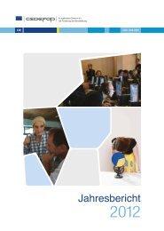 CEDEFOP Jahresbericht 2012 - DEQA-VET