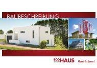 BauBeschreiBung - ECO System HAUS