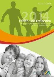 Ferien und Freizeiten 2014 - Die Jugendherbergen in Hessen