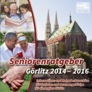 Seniorenratgeber Görlitz 2014-2016