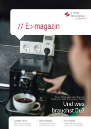 E > magazin 2/2013 - E-Werk Mittelbaden AG