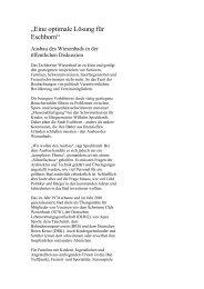 """""""Eine optimale Lösung für Eschborn"""" - Stadt Eschborn"""