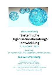 Systemische Organisationsberatung/- entwicklung - Erzbistum Köln