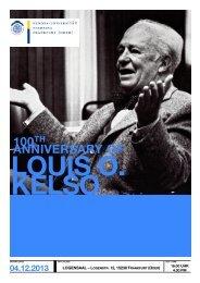 Kelso Anniversary - European University Viadrina Frankfurt (Oder)