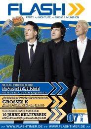 LIVE: DIE ÄRZTE gROSSES K - Flashtimer.de
