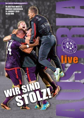 STOLZ! - FK Austria Wien