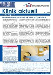 Klinik aktuell Nr. 4/2009