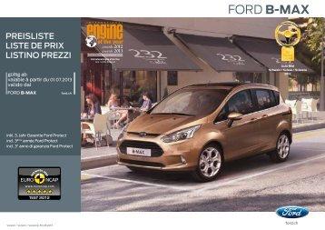 FORD B-MAX - FM Autoservice AG