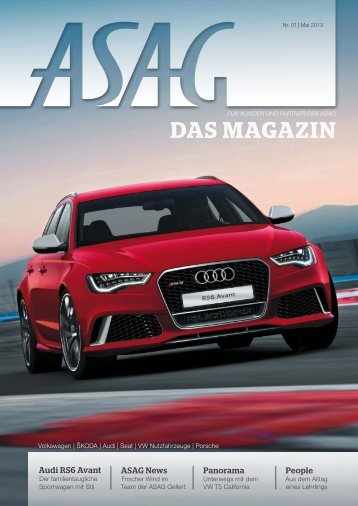 ASAG – Das Magazin, Nr. 01.2013 (PDF, 12 MB) - WS ...