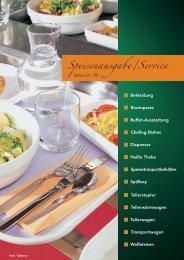 Speisenausgabe - Service ca. 5,9 Mbyte - Niederberger GmbH