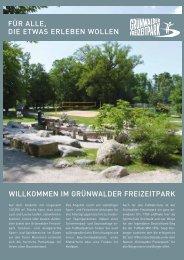 Broschüre - Grünwalder Freizeitpark GmbH
