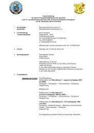 Ausschreibungsunterlagen - Schwarzheider Carnevalclub e.V.