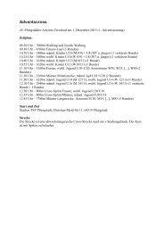 01.12. 45. Pfungstädter Advents-Crosslauf - die TSG