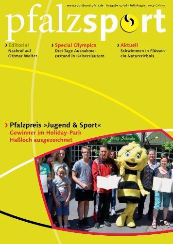 pfalzsport_130708.pdf (9,5 MB) - Sportbund Pfalz