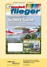 Testbericht Modellflieger 8-9/2013 1,7Mb - Lindinger.at - Modellbau ...