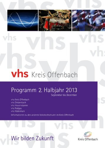 Volkshochschule Rodgau Informationen - vhs Kreis Offenbach