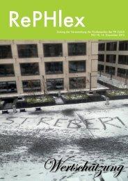 Ausgabe 10, 14.12.2013 - StudiWeb der PH Zürich