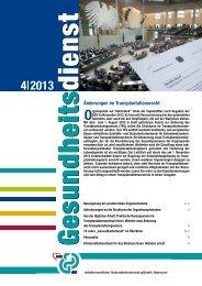 Ausgabe 04/2013 - AWO Gesundheitsdienste gGmbH