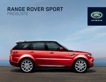 Online-Preisliste - Land Rover