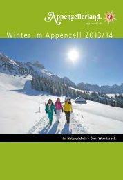 Winter im Appenzell 2013/14 - Appenzellerland Tourismus