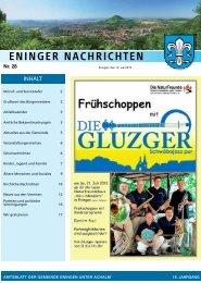 12. Juli 2013 - Gemeinde Eningen unter Achalm