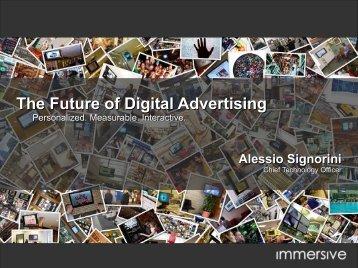 The Future of Digital Advertising