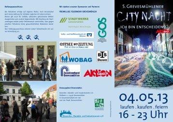 16 - 23 Uhr - Stadt Grevesmühlen