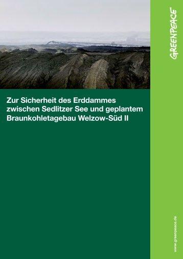 Gutachten Standsicherheit Lieske - Greenpeace