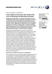 HAHN+KOLB Kataloge 2013/14 - Hahn +Kolb Werkzeuge GmbH